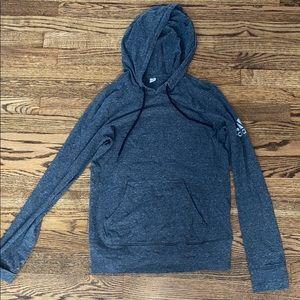 ADIDAS gray thermal fit hoodie